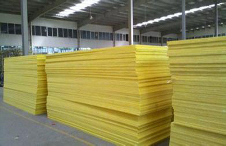 50mm Flame Resistant Glass Wool Pipe Insulation For External Walls
