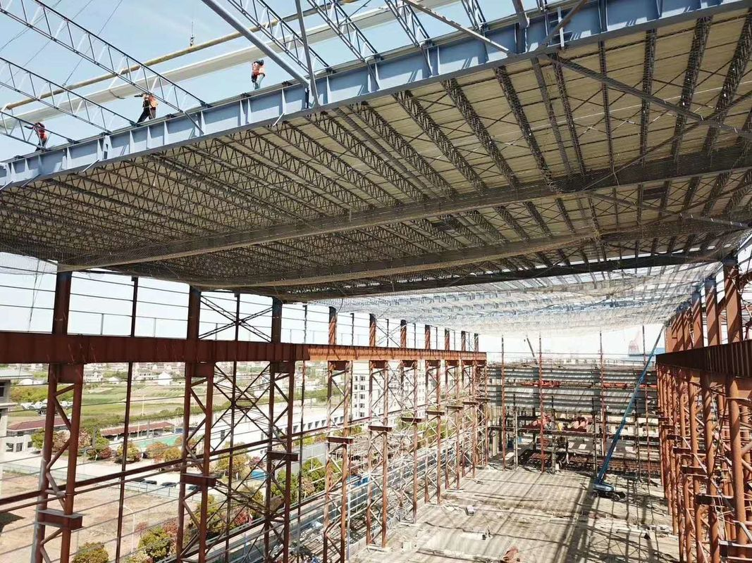 Single Multi Floor Warehouse Q235B High Rise Steel Structures